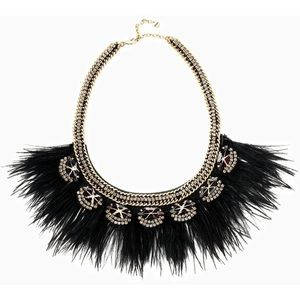 Harper Feather Necklace  from Stella and Dot .